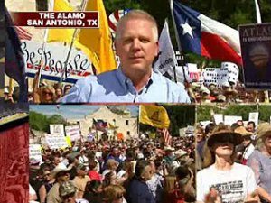 Glenn Beck at San Antonio Tea Party