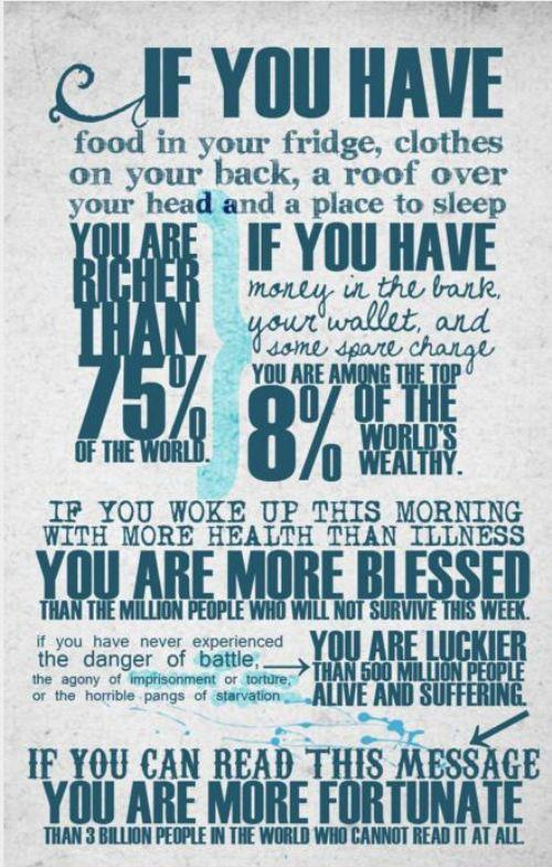 blessings we take for granted