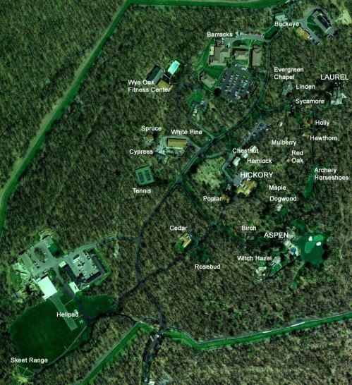 camp-david-map-google